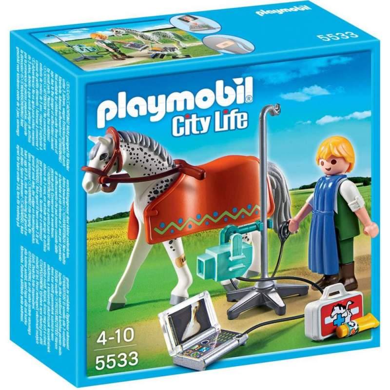 Playmobil Calut Cu Tehnician X-Ray (5533)