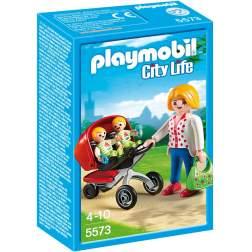 Playmobil Carucior Cu Gemeni (5573)