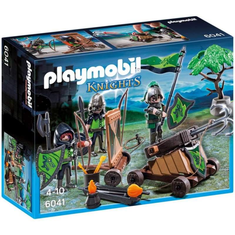 Playmobil Cavaleri Lupi Cu Catapulta (6041)