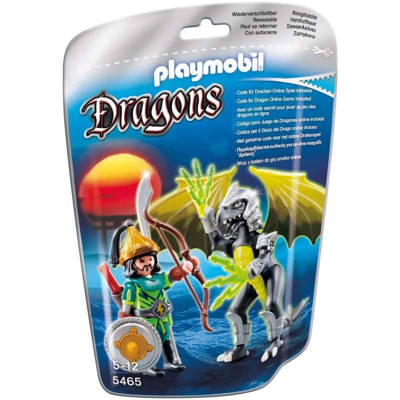 Playmobil Dragonul Luminii Cu Luptator (5465)
