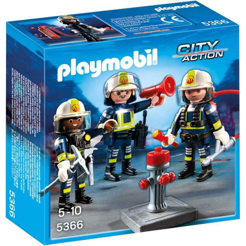 Playmobil Echipa De Pompieri (5366)