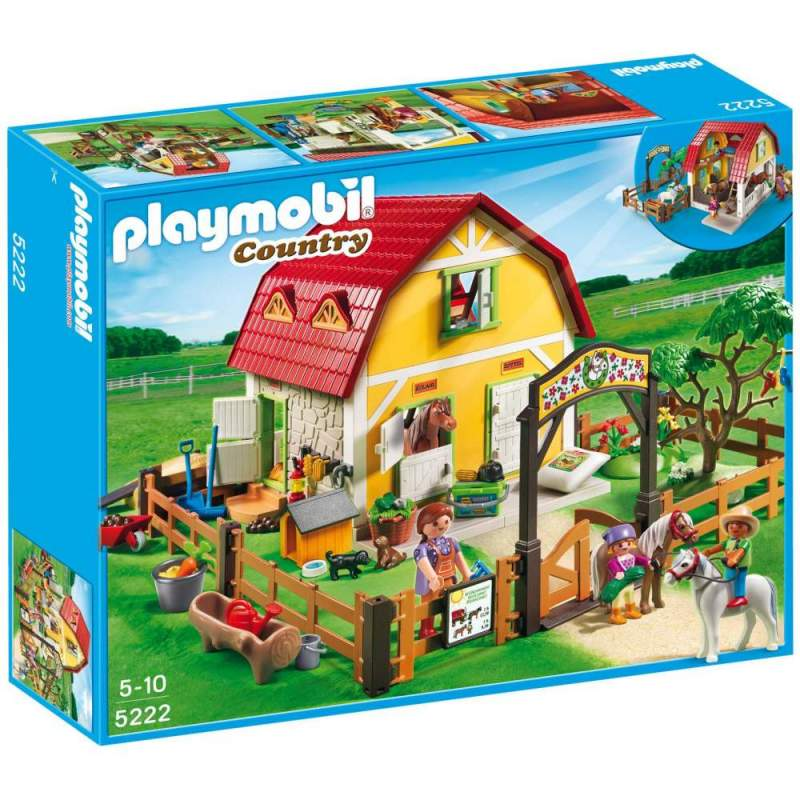 Playmobil Ferma Poneilor (5222)