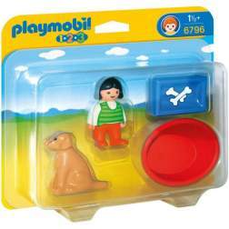 Playmobil Fetita Cu Catelusul (6796)