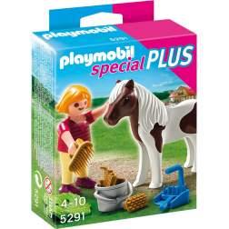 Playmobil Fetita Cu Ponei (5291)