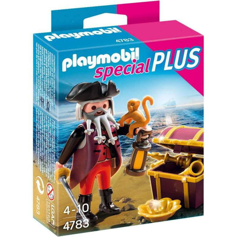 Playmobil Piratul Si Cufarul Comorii (4783)