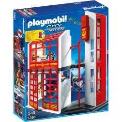 Playmobil Statie De Pompieri Cu Alarma (5361)