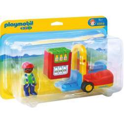 Playmobil - 1.2.3. Stivuitor (6959)