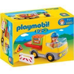 Playmobil - 1.2.3. Camion De Constructii (6960)