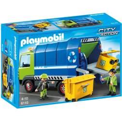 Playmobil - Camion De Reciclare (6110)