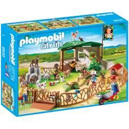 Playmobil - Tarcul Animalelor De La Zoo (6635)