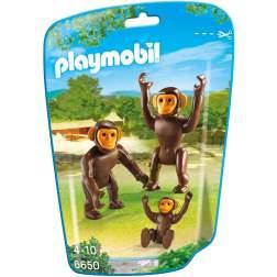 Playmobil - Familie De Cimpanzei (6650)