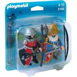 Playmobil - Set 2 Figurine - Cavaleri (5166)