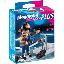Playmobil - Pompier Cu Furtun (4795)
