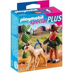 Playmobil - Cowboy Cu Manz (5373)