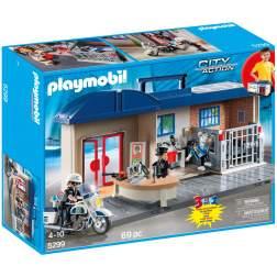 Playmobil - Set Mobil Sectie De Politie (5299)