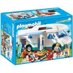 Playmobil - Masina De Camping (6671)