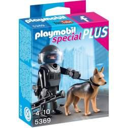 Playmobil - Echipa De Politie Cu Caine (5369)