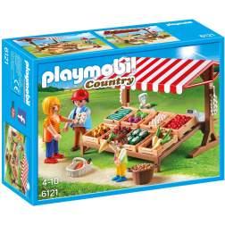 Playmobil - Piata Fermierilor (6121)