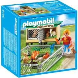 Playmobil - Tarc De Iepuri Cu Cusca (6140)