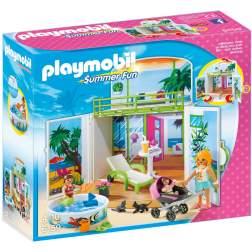 Playmobil - Cutie De Joaca - Vila Secreta De La Plaja (6159)