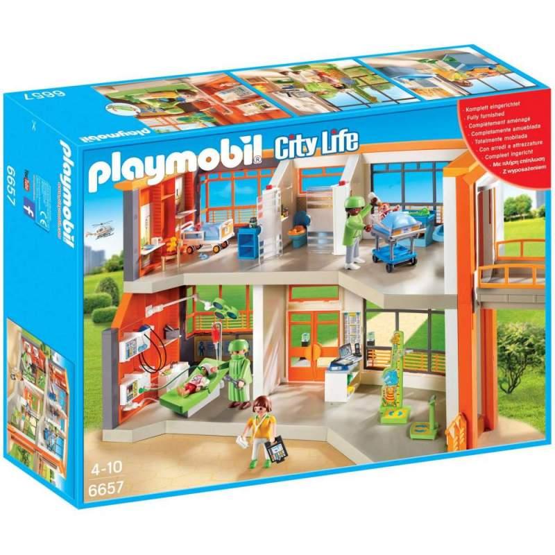 Playmobil - Spital De Copii Echipat (6657)
