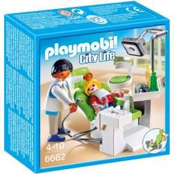 Playmobil - Dentist Cu Pacient (6662)