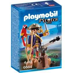 Playmobil - Capitanul Pirat (6684)