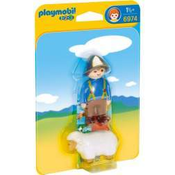 Joc Playmobil - 1.2.3 Barbat cu Oita (6974)