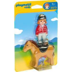 Joc Playmobil - 1.2.3 Femeie cu Calut (6973)