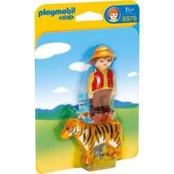Joc Playmobil - 1.2.3 Ingrijitor cu Tigru (6976)