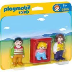 Joc Playmobil - 1.2.3 Parinti cu Copilas (6966)