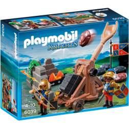 Joc Playmobil - Catapulta Regala a Cavalerilor Lei (6039)