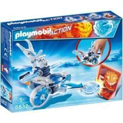 Joc Playmobil - Frosty si Lansator de Discuri (6832)