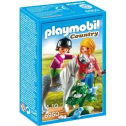 Joc Playmobil - Plimbare cu Poneiul (6950)