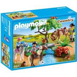 Joc Playmobil - Plimbare la Tara cu Calutii (6947)