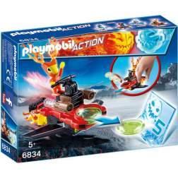 Joc Playmobil - Sparky si Lansator de Discuri (6834)