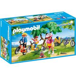 Joc Playmobil Large Holiday Camp - Excursie pe Biciclete 6890