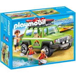 Joc Playmobil Large Holiday Camp - Vehicul de Teren 6889