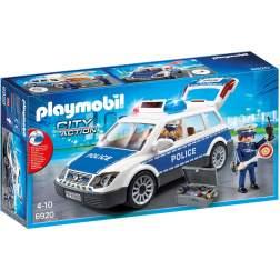 Joc Playmobil Police - Masina de Politie cu Lumina si Sunete 6920