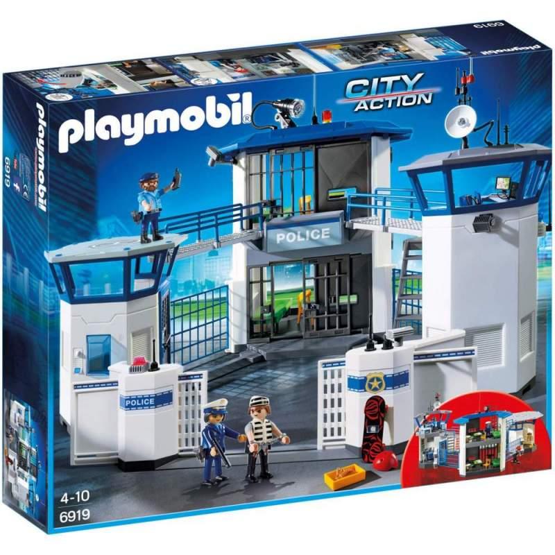 Joc Playmobil Police - Sediu de Politie cu Inchisoare 6919