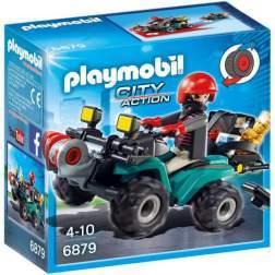Joc Playmobil Police - Vehiculul Hotului 6879