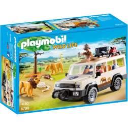Joc Playmobil Safari - Camion Safari si Lei 6798