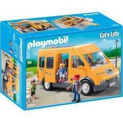 Joc Playmobil City Life - Masina Scolara 6866