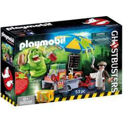 Joc Playmobil Ghostbusters - Slimmer Si Stand De Hot Dog 9222
