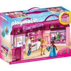 Set Playmobil City Life - Set Mobil Butic Cu Haine 6862