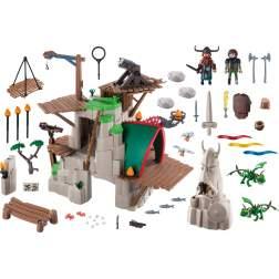 Set Playmobil Dragons - Insula Berk 9243