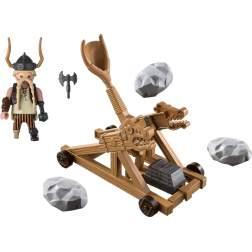 Set Playmobil Dragons - Gobber Cu Catapulta 9245