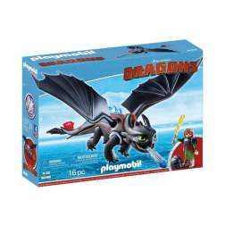 Set Playmobil Dragons - Hiccup Si Toothless 9246