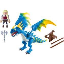 Set Playmobil Dragons - Astrid Si Stormfly 9247