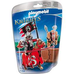 Playmobil Cavalerul Dragon La Turnir (5358)